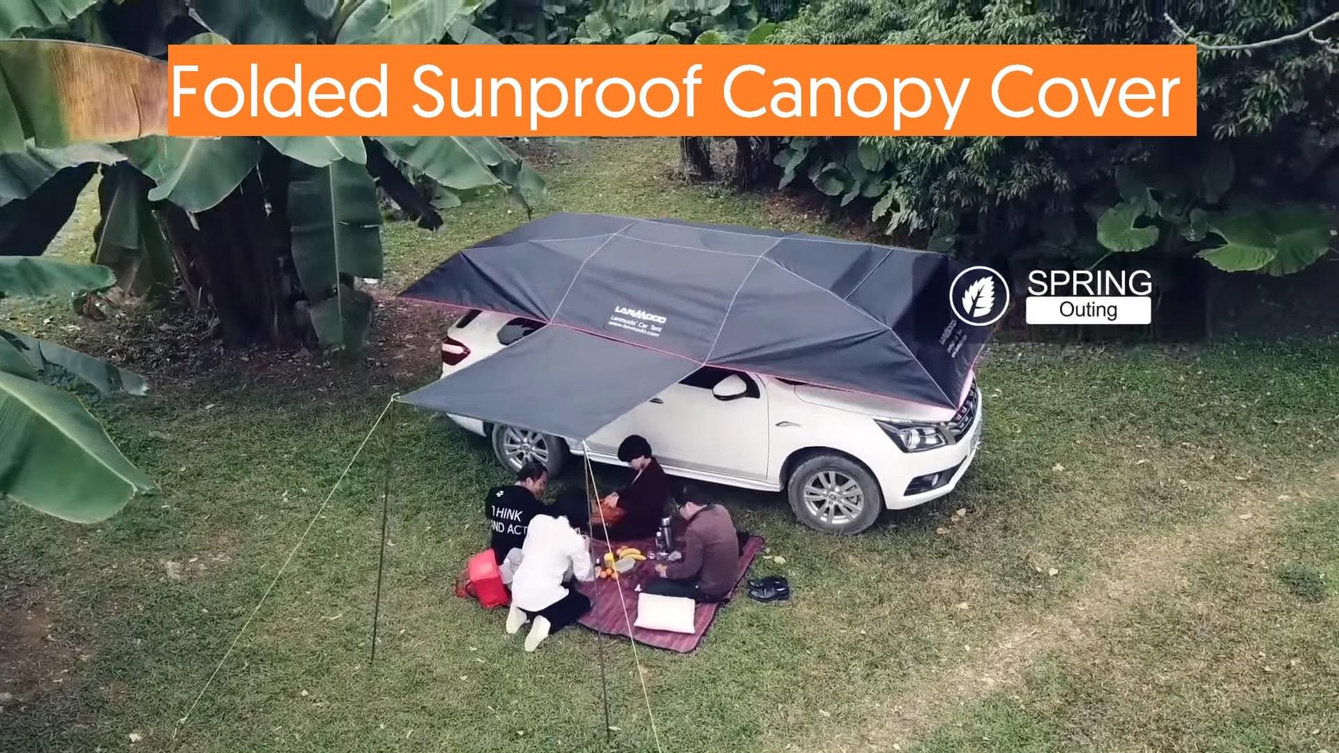 TecMac Folded Sunproof Canopy Cover