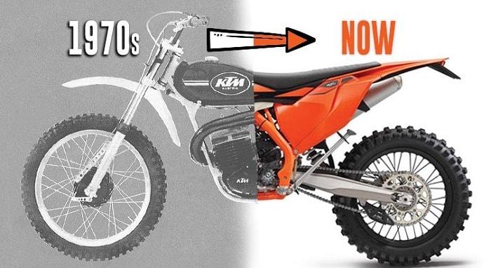 History of KTM Dirt Bikes