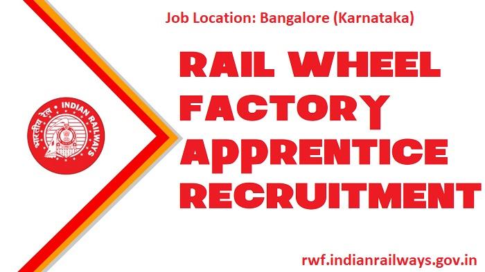 Rail Wheel Factory Apprentice Recruitment