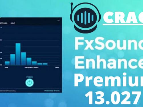 FX Sound Crack 13.0.27