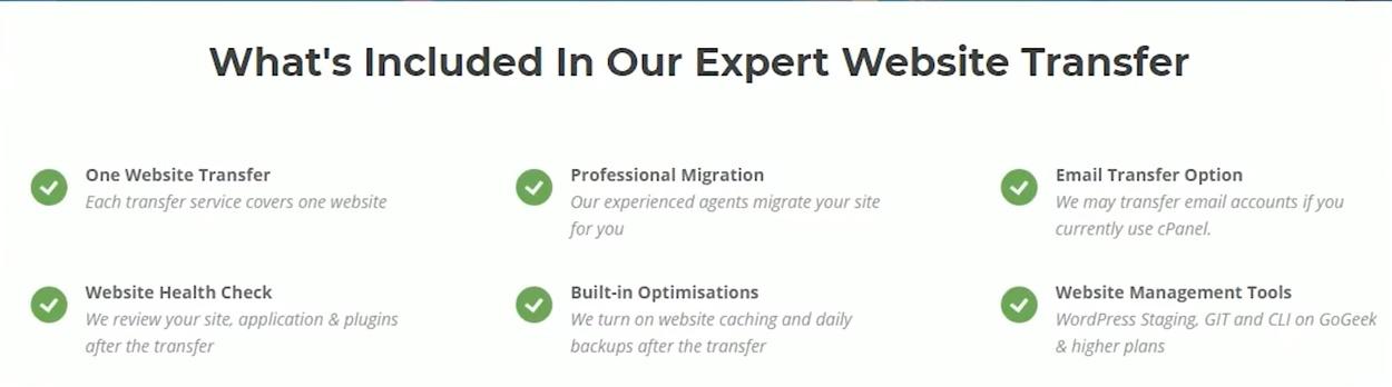 Free Website Transfer