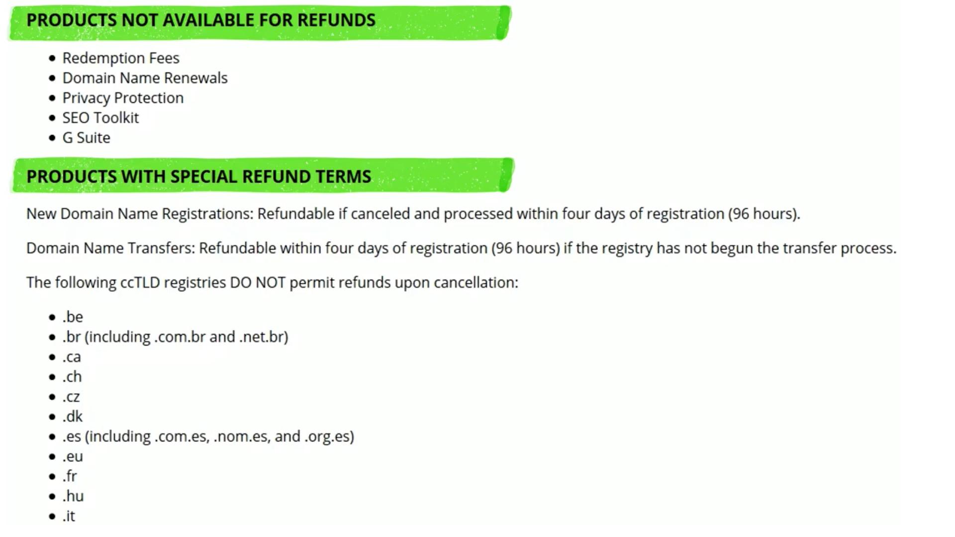 Hostinger Refund Issue