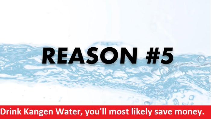 Reason 5: Kangen Water machine
